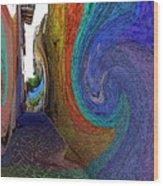 Color Undertow Wood Print