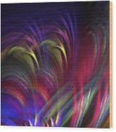 Color Vibes Wood Print