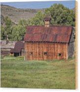 Colorado Barn 5817 Wood Print