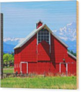 Colorado Country Fine Art Print Wood Print