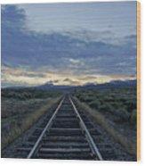 Colorado Daybreak Wood Print