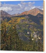 Colorado Fall Wood Print