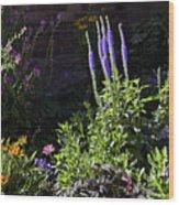 Colorado Flowers Wood Print