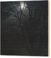 Colorado Full Moon Wood Print