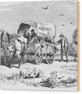 Colorado Gold Rush, 1859 Wood Print
