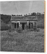 Colorado History Wood Print