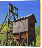 Colorado Mining Wood Print