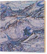 Colorado Mining Relics Wood Print