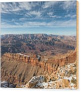 Colorado River And The Grand Canyon Wood Print