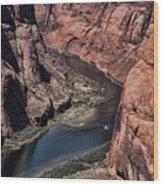 Colorado River Horseshoe Bend Color  Wood Print