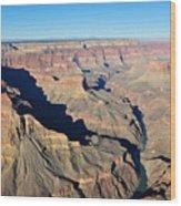 Colorado River Valley Wood Print