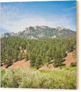 colorado Rockies 13 Wood Print