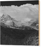Colorado Rocky Mountains Continental Divide Wood Print