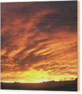 Colorado Sunrise 4 Wood Print