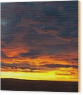 Colorado Sunrise February Wood Print