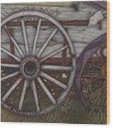 Colorado Wheels Wood Print