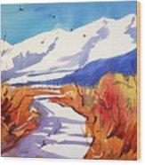 Colorado Winter 2 Wood Print