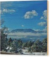 Colorado Winter Wood Print