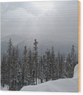 Colorado Winter Peace Wood Print