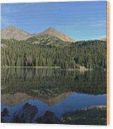 Colorado's Sawatch Range Wood Print