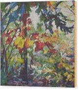 Colorblind Wood Print
