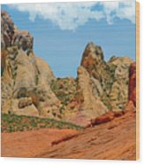 Colored Sandstones Valley Of Fire Wood Print