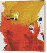 Colorfield Wood Print