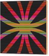 Colorful Abstract 11 Wood Print