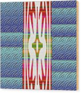 Colorful Abstract 13 Wood Print
