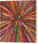 Colorful Abstract Photography Wood Print