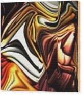 Colorful Abstract13 Wood Print