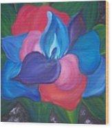 Colorful Am I Wood Print