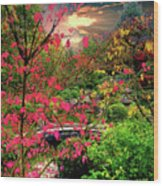Colorful Autumn Wood Print