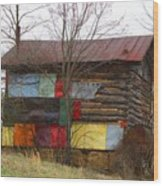 Colorful Barn Wood Print