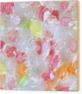 Colorful Candies Wood Print