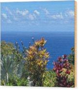 Colorful Coast Wood Print