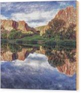 Colorful Colorado Wood Print