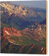 Colorful Colorado Planet Earth Wood Print