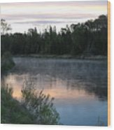 Colorful Dawn Reflections Wood Print