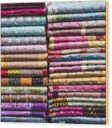 Colorful Garment Wood Print