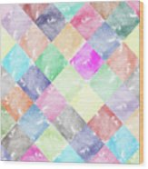 Colorful Geometric Patterns IIi Wood Print