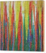 Colorful Grace Wood Print