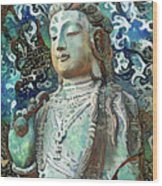Colorful Indian Diety Figure Wood Print