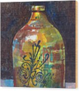 Colorful Jug Wood Print
