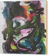 Colorful Landscape1125 Wood Print
