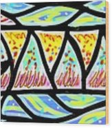 Colorful Longfish Wood Print