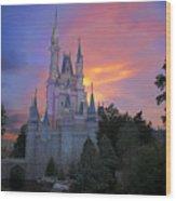 Colorful Magic Wood Print