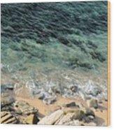 Colorful Pacific Ocean Wood Print