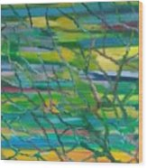 Colorful Roots Wood Print