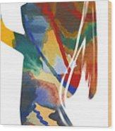 Colorful Shape Wood Print